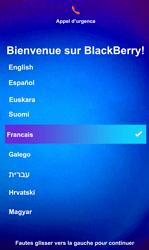 BlackBerry Z10 - Premiers pas - Créer un compte - Étape 2