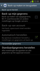 Samsung I9305 Galaxy S III LTE - Instellingen aanpassen - Fabrieksinstellingen terugzetten - Stap 5