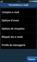 Samsung Wave 2 - E-mails - Ajouter ou modifier un compte e-mail - Étape 10
