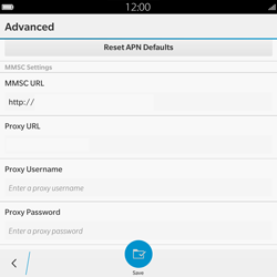 BlackBerry Passport - Mms - Manual configuration - Step 12