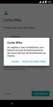Wiko View Dual SIM - Primeiros passos - Como ligar o telemóvel pela primeira vez -  23