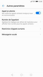Huawei P10 - Messagerie vocale - configuration manuelle - Étape 7