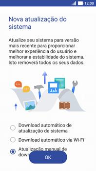 Asus Zenfone 3 - Funções básicas - Como atualizar o software do seu aparelho - Etapa 5