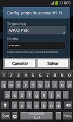 Samsung Galaxy Grand Neo - Wi-Fi - Como usar seu aparelho como um roteador de rede wi-fi - Etapa 9