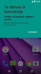 Motorola Moto G 3rd Gen. (2015) (XT1541) - Primeros pasos - Activar el equipo - Paso 20