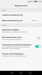 Huawei Honor 8 - Segurança - Como ativar o código de bloqueio do ecrã -  5