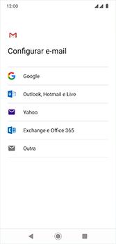 Motorola Moto G7 - Email - Como configurar seu celular para receber e enviar e-mails - Etapa 7