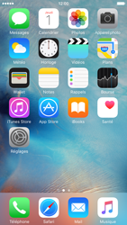 Apple iPhone 6 iOS 9 - Messagerie vocale - configuration manuelle - Étape 1