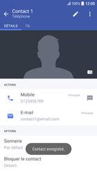 HTC 10 - Contact, Appels, SMS/MMS - Ajouter un contact - Étape 12