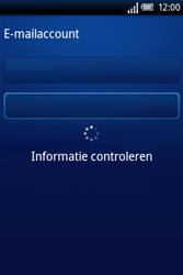 Sony Ericsson Xperia X8 - E-mail - handmatig instellen - Stap 6