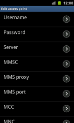 Samsung I9100 Galaxy S II - Mms - Manual configuration - Step 9
