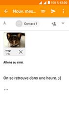 Alcatel U5 - E-mails - Envoyer un e-mail - Étape 15