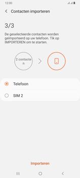 Samsung galaxy-a70-dual-sim-sm-a705fn - Contacten en data - Contacten kopiëren van SIM naar toestel - Stap 12