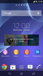 Sony Xperia M2 (D2303) - E-mail - In general - Step 1