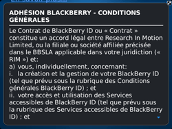 BlackBerry 9720 Bold - BlackBerry activation - BlackBerry ID activation - Étape 7