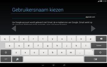 Sony Xperia Tablet Z2 4G (SGP521) - Applicaties - Account aanmaken - Stap 9