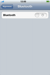 Apple iPhone 4 S - Bluetooth - koppelen met ander apparaat - Stap 7