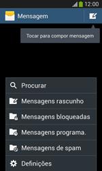 Samsung Galaxy Ace 3 LTE - SMS - Como configurar o centro de mensagens -  5