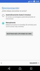 Sony Xperia X - E-mail - Configurar correo electrónico - Paso 21