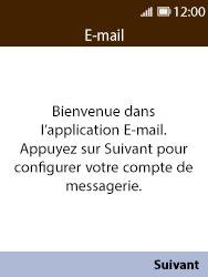 Nokia 8110 Banana - E-mail - Configuration manuelle - Étape 4