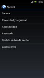 Sony Xperia J - Internet - Configurar Internet - Paso 23