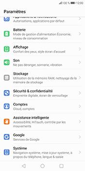Huawei P Smart - Sécuriser votre mobile - Personnaliser le code PIN de votre carte SIM - Étape 4