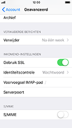Apple iPhone SE - iOS 12 - E-mail - Handmatig instellen - Stap 25