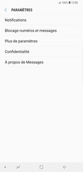 Samsung Galaxy S9 Plus - SMS - configuration manuelle - Étape 6