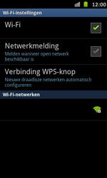 Samsung I9070 Galaxy S Advance - Wifi - handmatig instellen - Stap 6