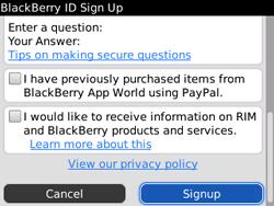 BlackBerry 9800 Torch - Applicaties - Applicaties downloaden - Stap 16
