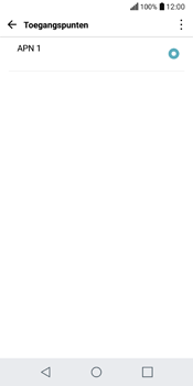 LG Q6 - Internet - Handmatig instellen - Stap 7