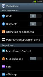 Samsung Galaxy S3 4G - Internet et connexion - Utiliser le mode modem par USB - Étape 4