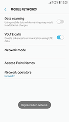 Samsung Galaxy J3 (2017) - Network - Manually select a network - Step 11