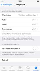 Apple iPhone 6 iOS 9 - WhatsApp - Beperk datagebruik voor WhatsApp - Stap 6