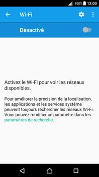 Sony Xperia Z5 Premium - Android Nougat - Wifi - configuration manuelle - Étape 4