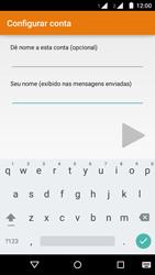 Motorola Moto G (2ª Geração) - Email - Como configurar seu celular para receber e enviar e-mails - Etapa 21