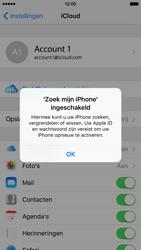 Apple iPhone 6 met iOS 9 (Model A1586) - Beveiliging en ouderlijk toezicht - iCloud instellen - Stap 22