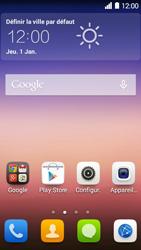 Huawei Ascend Y550 - MMS - envoi d'images - Étape 1