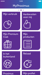 Apple iPhone 6 Plus iOS 8 - Applicaties - MyProximus - Stap 12