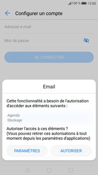 Huawei Mate 9 - E-mail - Configuration manuelle - Étape 5