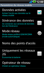 LG P990 Optimus 2X Speed - Internet - configuration manuelle - Étape 7