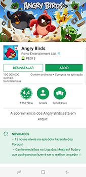 Samsung Galaxy S8 Plus - Aplicações - Como pesquisar e instalar aplicações -  18