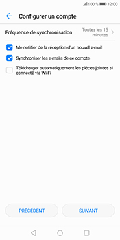 Huawei P Smart - E-mails - Ajouter ou modifier votre compte Yahoo - Étape 8