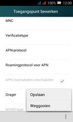 Huawei Y3 - MMS - Handmatig instellen - Stap 15
