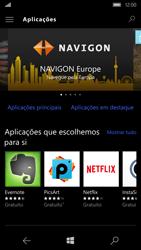 Microsoft Lumia 650 - Aplicações - Como pesquisar e instalar aplicações -  6
