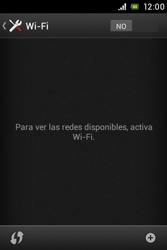 Sony Xperia E - WiFi - Conectarse a una red WiFi - Paso 5