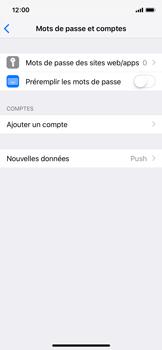 Apple iPhone X - iOS 12 - E-mail - Configurer l