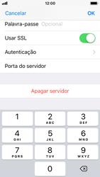 Apple iPhone SE - iOS 11 - Email - Configurar a conta de Email -  20