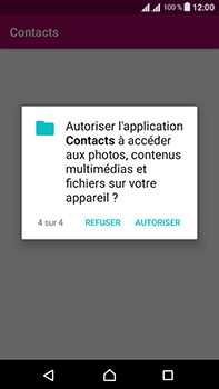 Sony Xperia L1 - Contact, Appels, SMS/MMS - Ajouter un contact - Étape 7