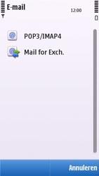 Nokia C5-03 - E-mail - e-mail instellen: POP3 - Stap 9